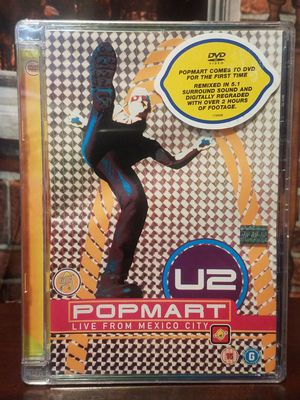 U2 Popmart Live from Mexico City 1997 SciFi Disco Music Concert for Sale in Tampa, FL