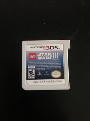 Nintendo 3DS video game - Star Wars 3 for Sale in Lowellville, OH