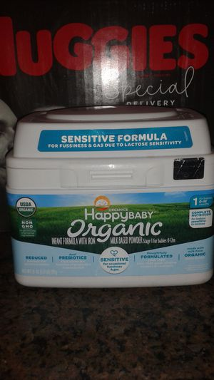 Baby Formula Happy Baby Organic New never used NOT Expired until 2020 for Sale in Anaheim, CA