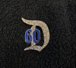 Disney Pin #208, Disneyland Resort, 60th Anniversary, Diamond Celebration Jeweled D for Sale in San Diego, CA