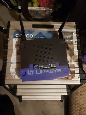 Linksys broadband router WRT54G for Sale in Mill Creek, WA