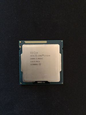 Intel i3-3240 For Sale for Sale in Fresno, CA