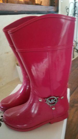 Rain boots kids # 4 MK for Sale in Oak Point, TX