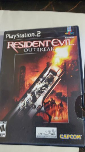 Residents evil ps2 game for Sale in Pompano Beach, FL