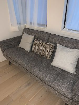 Grey Mid century Sleeper/Fulton/Sofa/Couch for Sale in San Francisco, CA