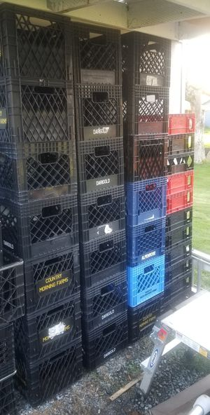 Milk crates and storage containers for Sale in Puyallup, WA