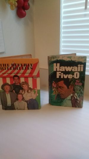 THE BEVERLY HILLBILLIES/ HAWAII FIVE-O BOOKS for Sale in Baltimore, MD