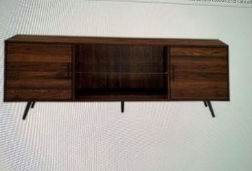 Brand New In Box Wood Tv Stand for Sale in Newport Beach,  CA