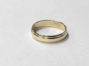 10K Yellow Gold Unisex Plain Wedding Band Size: 6.5 **Great Buy** 10011831-1 for Sale in Tampa, FL