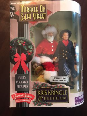Miracle On 34th Street Poseable Figures (1998) - New for Sale in Temecula, CA
