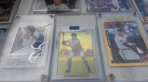 9 cal Ripken jr cards includes 1 numbered insert & 2020 topps chrome card .GREAT SHAPE for Sale in Lutz, FL