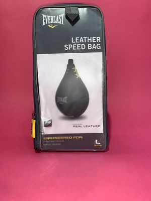 Leather speed bag for Sale in Carson, CA