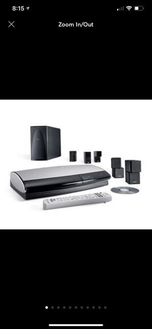 Bose lifestyle system 38 DVD& speakers for Sale in Chandler, AZ