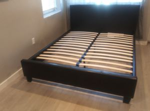 Queen bed frame brand new free delivery same day for Sale in Miramar, FL