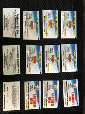 Victory casino cruises tickets (four pack). for Sale in Palm Shores, FL