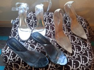 Clear heels for Sale in Dallas, TX