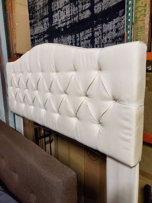 Full/Queen Headboard, Beige for Sale in Fountain Valley, CA