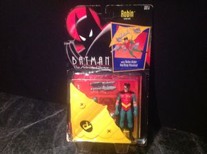 Batman The Animated Series Robin Action Figure With Turbo Glider & Missiles Kenner 1992 for Sale in Tarpon Springs, FL