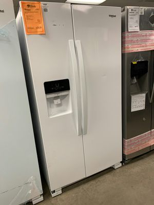 New Whirlpool White Side By Side Refrigerator..1yr Manufacturers Warranty👆Paradise Appliance for Sale in Gilbert, AZ