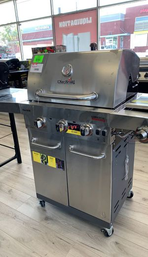 Brand New Char-Broil 3 Burner Stainless Steel Grill 45 for Sale in Huntington Beach, CA