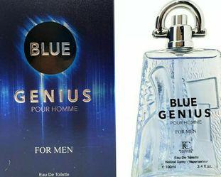 GENIUS BLUE Men's Cologne 3.4 Oz Eau de Toilette Spray for Sale in Kissimmee,  FL