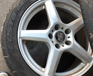 Rims and tires set of 4 17inch for Sale in Beach Park, IL