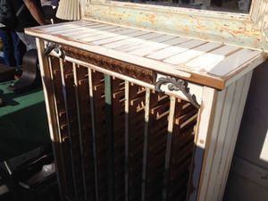 Antique wine cabinet / rack for Sale in San Francisco, CA
