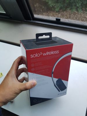 Beats solo3 wireless, a new product, never unboxed for Sale in Austin, TX