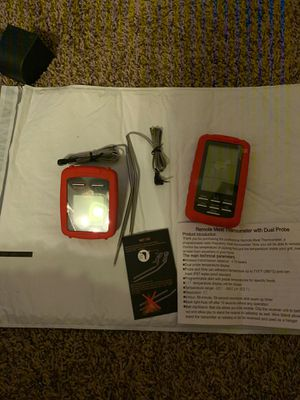Veken Wireless Remote BBQ Meat 2 Probe Thermometer Cooking Food Grilling for Sale in Nashville, TN
