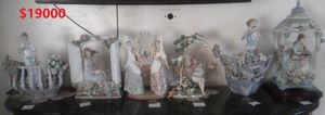 BUNDLE OF 6 RETIRED LLADRO FIGURINES PORCELAIN SPAIN for Sale in Huntington Park, CA