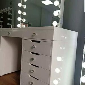 MAKEUP VANITY TABLE WITH BLUETOOTH MIRROR FINANCING AVAILABLE for Sale in Chino, CA