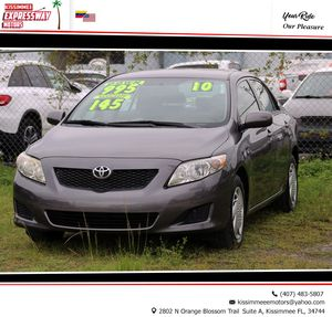 2010 Toyota Corolla 🌴 Only 117k Miles 👍🏼🏁 $995 Downpayment for Sale in Kissimmee, FL