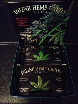 Inline Hemp Cards Series 1 trading cards unopened packs for Sale in Columbus, OH