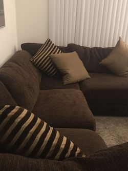 Sectional Couch And Granite Table Serious Inquiries Only for Sale in Anaheim,  CA