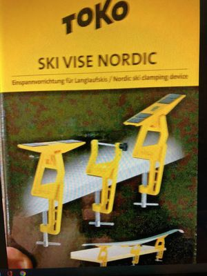 Brand NEW TOKO World Cup Ski Vise Nordic for Sale in Bellevue, WA