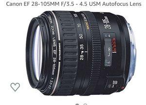 Canon EF 28-105/ F3.5-4.5 lense for Sale in San Francisco, CA