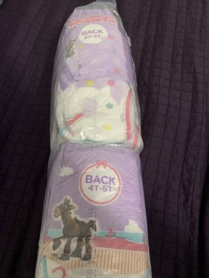 Diapers 4T-5T girl huggies for Sale in West Covina, CA