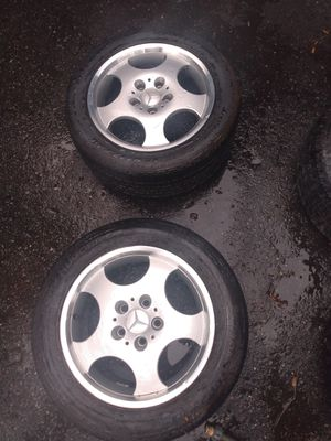4 Mercedes rims and tires for Sale in Daytona Beach, FL