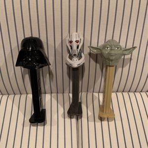 Large Star Wars Pez Dispenser Collector's Set - Yoda, Darth Vader, General Grievous for Sale in Fairfax, VA