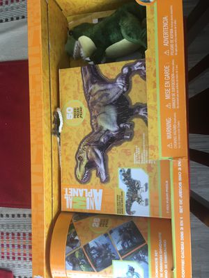 Dinosaur toy and puzzle for Sale in Katy, TX