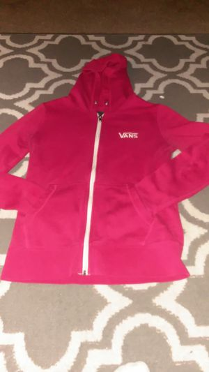 Red size small VANS jacket for Sale in Tacoma, WA
