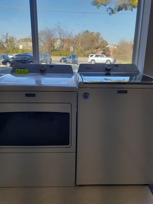 🔥🔥maytag washer and gas dryer set with agitator 6 month warranty 🔥🔥 for Sale in Mount Rainier, MD