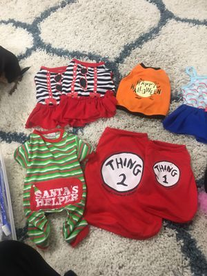 Dog clothes/toys/bowls/items for Sale in Dallas, TX