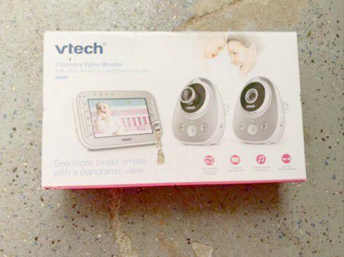 Vtech dual baby monitor