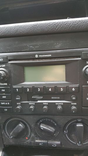 Volkswagen Mk4 Monsoon Stereo for Sale in Redmond, WA