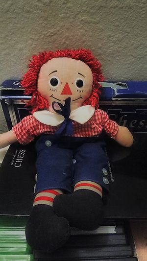 Vintage 70s, Raggedy Andy Doll for Sale in Des Moines, WA