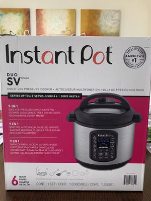 """INSTANT POT DUO SV """"BRAND NEW"""" for Sale in Houston, TX"""