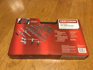 Craftsman 75 pcs Tap and Die tool set for Sale in Warrenton, VA