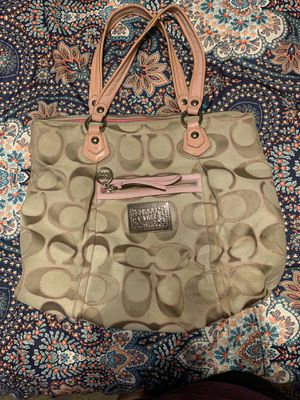 Coach poppy edition purse for Sale in Avondale, AZ