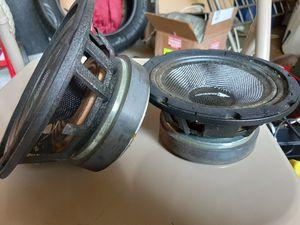 2 - 4ohms Cresendo Audio Pro Mid Speakers for Sale in Jonesboro, GA